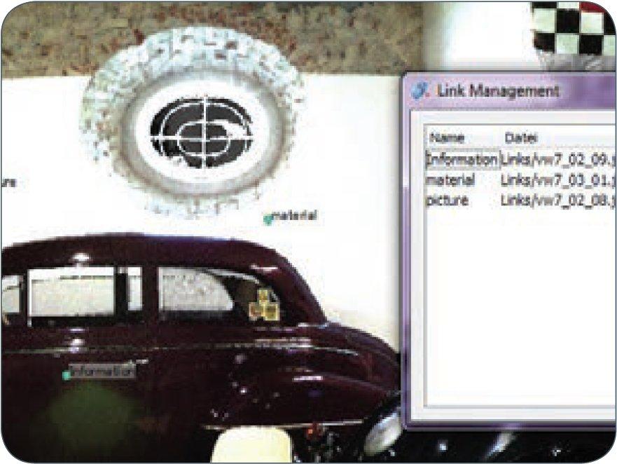 Z+F LaserControl Professional Plus. Инструмент создания связей.
