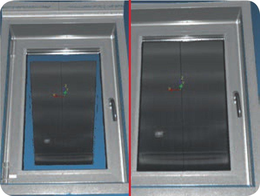 Z+F LaserControl Professional Plus. Зеркальный фильтр.