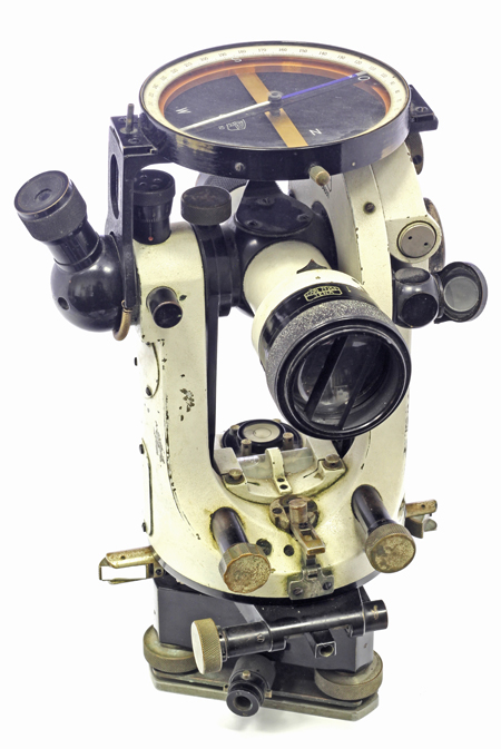 Теодолит оптический. Германия, Йена, Carl Zeiss, 1940-43 гг.