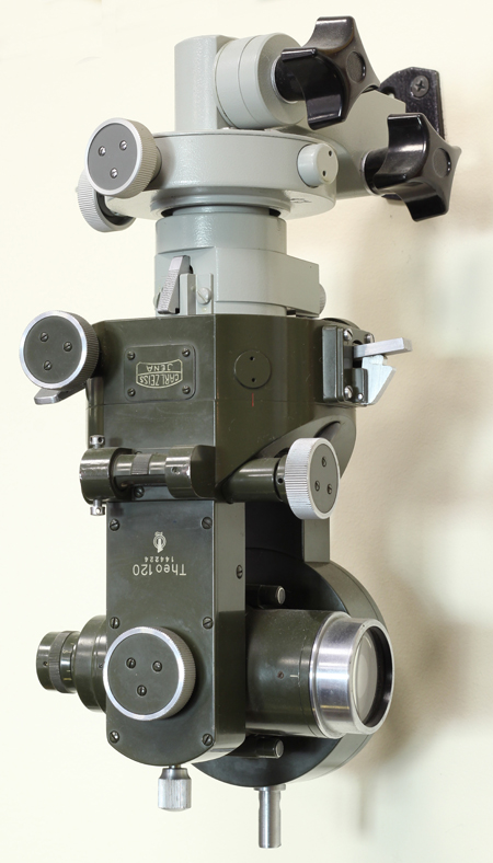 �������� ���������� �������������� Theo 120. ���, ����, Carl Zeiss. 1960-70-� ��.